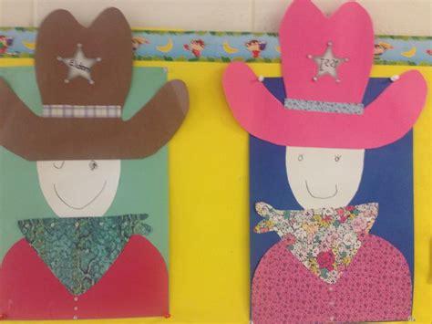 cowboy crafts for cowboy and preschool crafts
