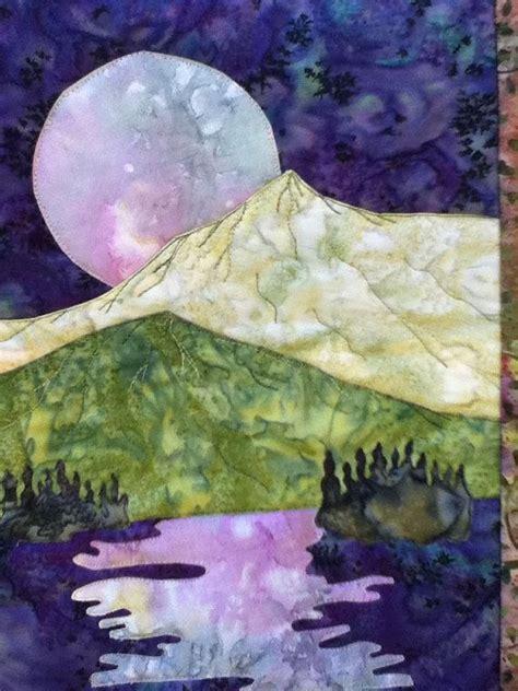 landscape quilt patterns 25 best ideas about landscape quilts on