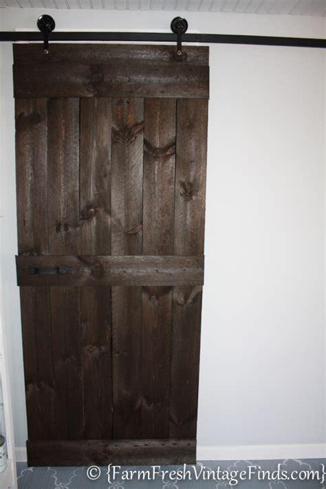 diy hanging door how to build and hang a barn door cheaply hometalk