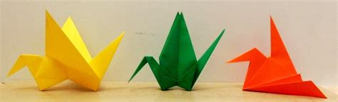 origami article origami grues