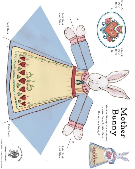 easter paper crafts free how to craft bunny paper hellokids