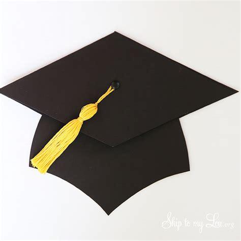 how to make a graduation cap card graduation cap gift card holder skip to my lou
