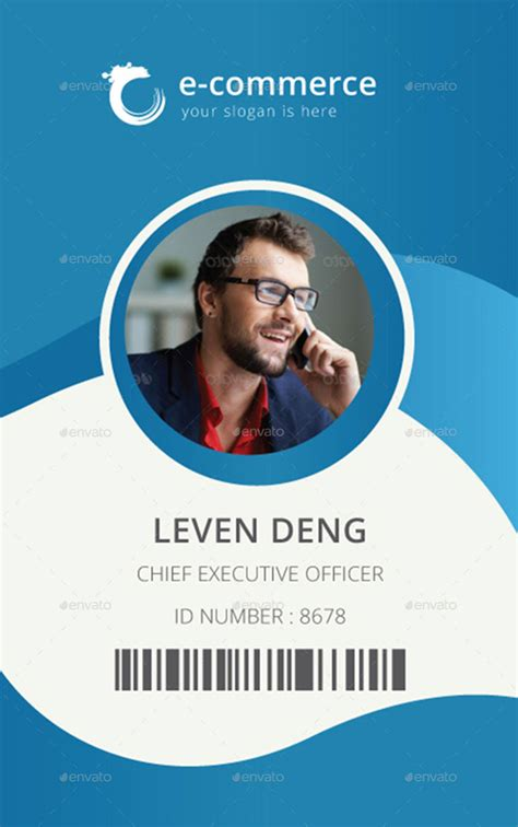 make an id card free template for identification card id badge