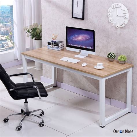 home office desk computer desk pc laptop table wood workstation study home
