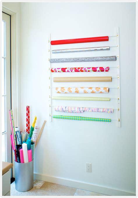 craft paper storage rack diy craft room hacks from 10 crafty blogs storage