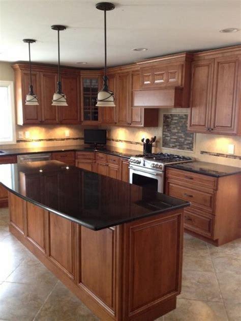 kitchen granite countertops best 25 black granite kitchen ideas on