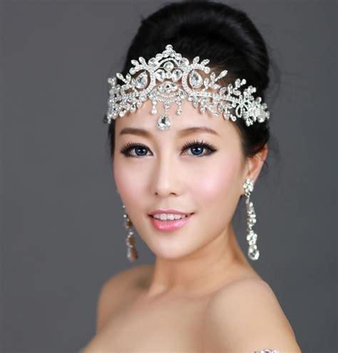 how to make headpiece jewelry tiara chain hair jewelry wedding hair