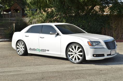 2005 Chrysler 300 Tire Size by Chrysler 300 Custom Wheels 22x9 0 Et Tire Size 265 30
