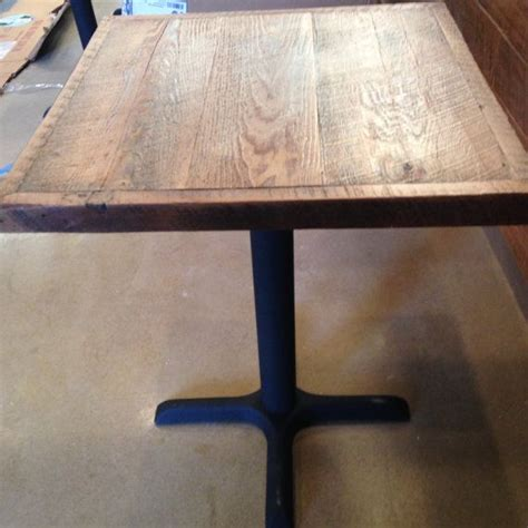 wood restaurant tables reclaimed pine wood table top distressed weathered rustic
