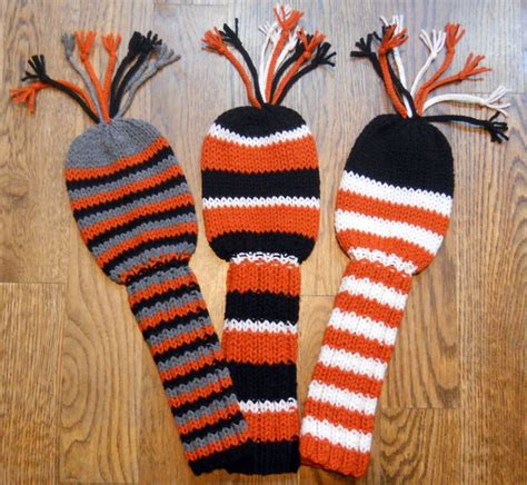 knitted headcovers for golf clubs patterns easy golf club cover pattern