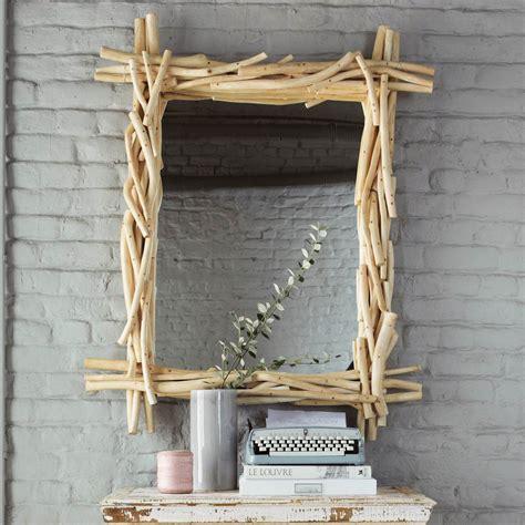 miroir en bois flott 233 h 113 cm rivage maisons du monde