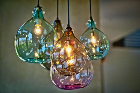 blown glass lighting fixtures blown glass pendant lights baby exit
