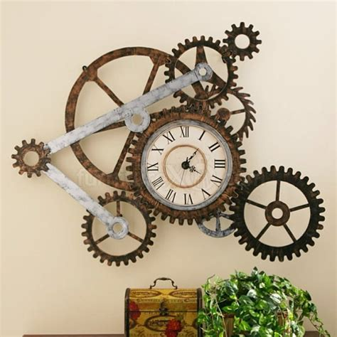 Oversized Wall Stickers 21 cool tips to steampunk your home