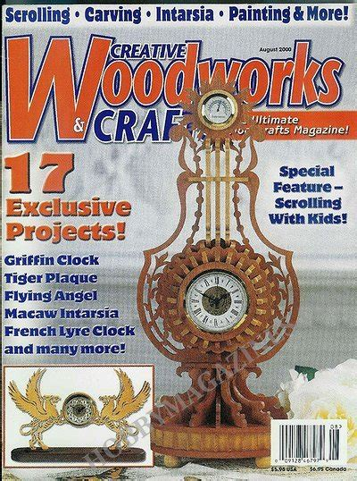 woodworks and crafts creative woodworks crafts 72 august 2000 187 hobby