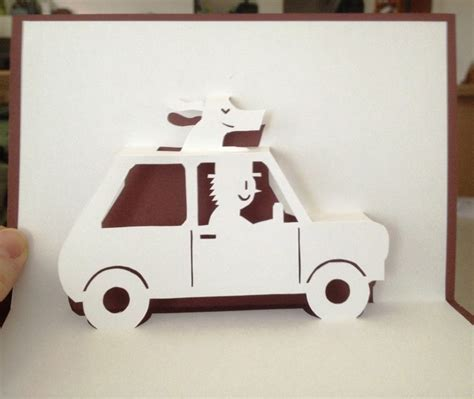 how to make a car card 318 best ideas about cards pop up on diy