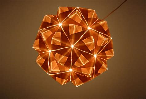 origami light foldability to unveil gorgeous origami pendant ls at