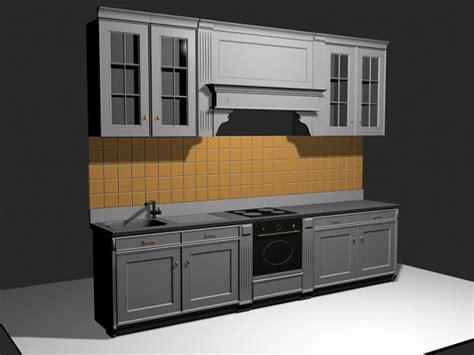 kitchen cabinet 3d custom kitchen cabinets with backsplash 3ds 3d studio