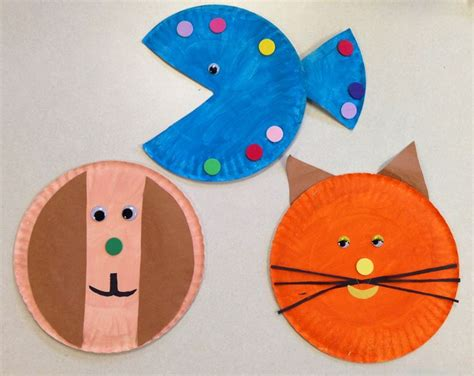 pet crafts for pet theme paper plate craft club pet