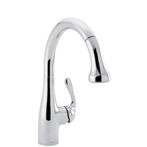 hansgrohe allegro e kitchen faucet hansgrohe 04066000 allegro e gourmet pull prep kitchen faucet chrome faucetdepot
