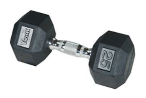 rubber sts unlimited inc york rubber hex 17 5 lb dumbbell