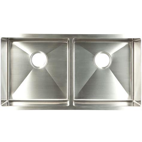 homedepot kitchen sinks franke undermount stainless steel 35x18x9 basin