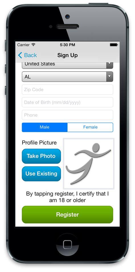 for mobile runner mobile app runsignup