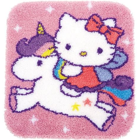 alfombras hello kitty alfombra hello kitty y el unicornio