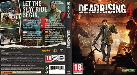 one covers dead rising 4 xbox one cover microsoft capcom german xbox