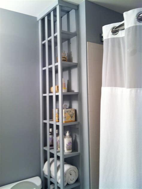 bathroom built in shelves built in bathroom shelves bathroom