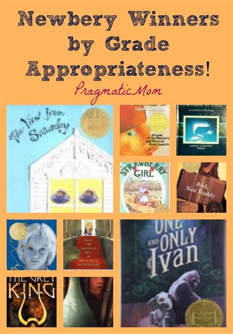 newbery award winning picture books newbery winners by grade appropriateness pragmaticmom