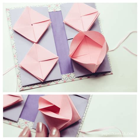 books about origami origami thread book tutorial paper kawaii