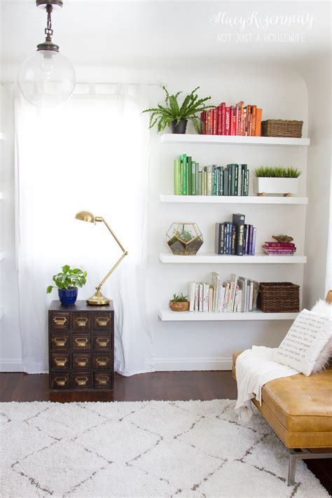 shelving ideas for bedroom walls bright and colorful family room risenmay