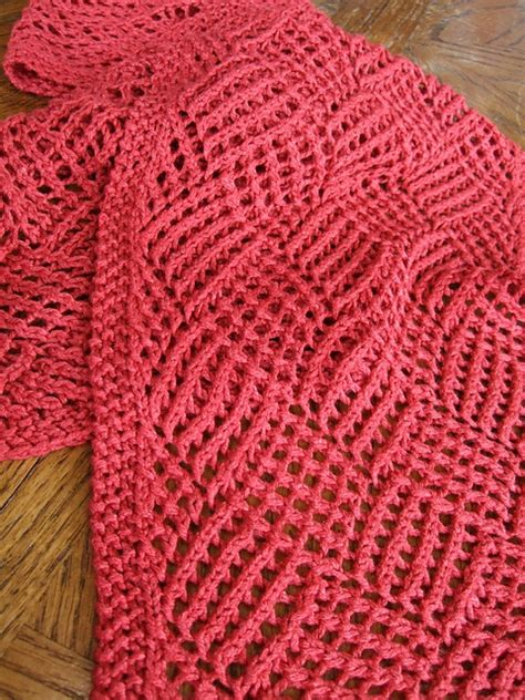 knitting scarf pattern reversible knit scarf pattern a knitting