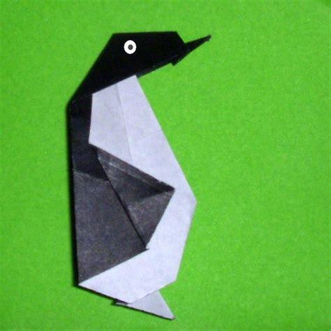 origami penguin folding origami origami penguin