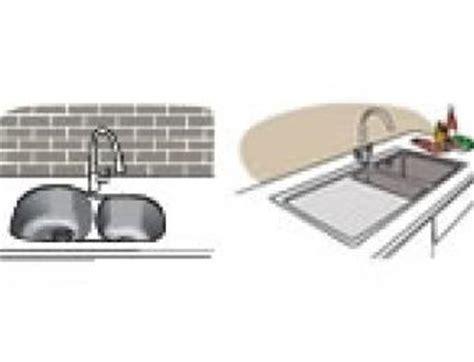 top mount vs undermount kitchen sink acrylic kitchen sinks build