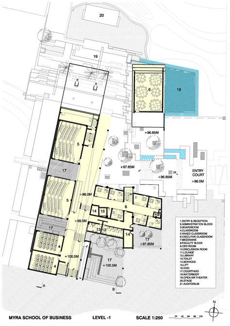 architecture school floor plan gallery of myra school of business architecture