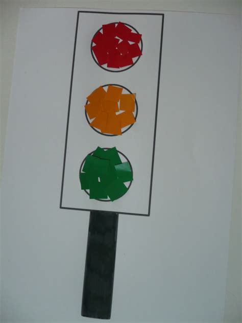 light crafts for paper traffic lights family crafts