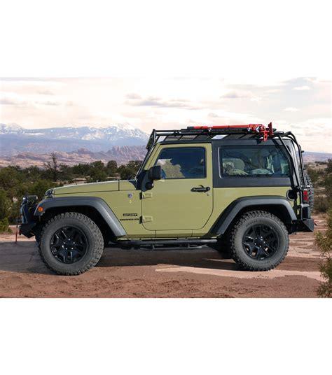 Jeep Jk jeep jk 2door 183 stealth rack 183 multi light setup gobi racks