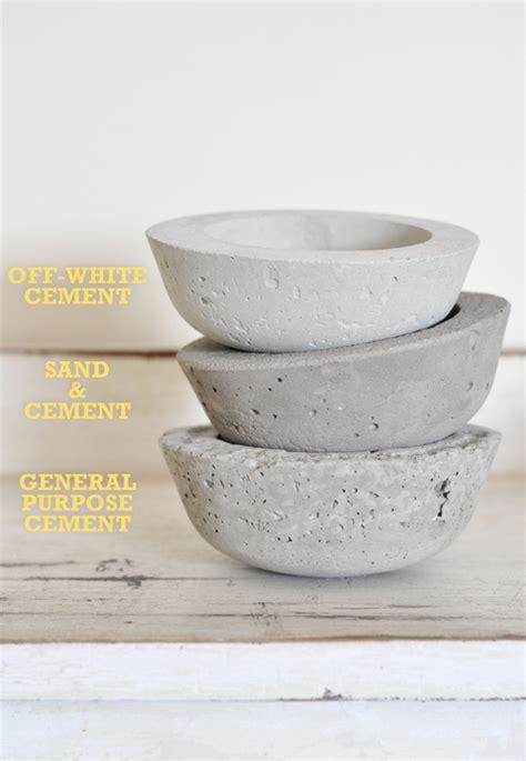 diy cement planters the painted hive diy concrete vessel planters
