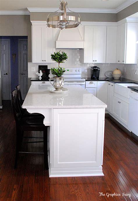 kitchen island home depot kitchen renovation reveal countertops new kitchen and