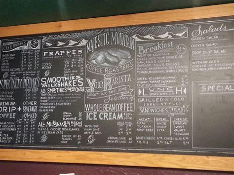 chalk paint kingston 25 unique chalk menu ideas on chalk board