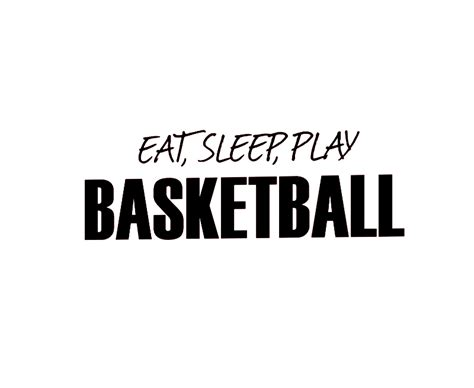 Wall Decor Stickers Online wall decal sticker quote vinyl eat sleep play basketball