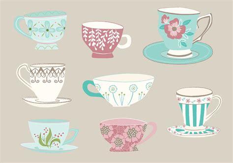 free vector hand drawn tea cup vectors 10981 my graphic
