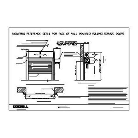 overhead door installation manual overhead door installation manual overhead wiring