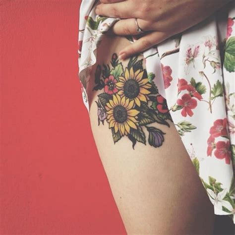 the 25 best sunflower tattoos ideas on pinterest