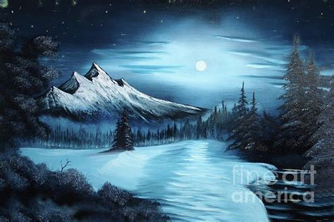bob ross paintings winter the gallery for gt bob ross winter paintings