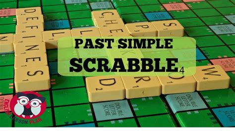 scrabble lessons past simple scrabble a1 speaking activity elementary
