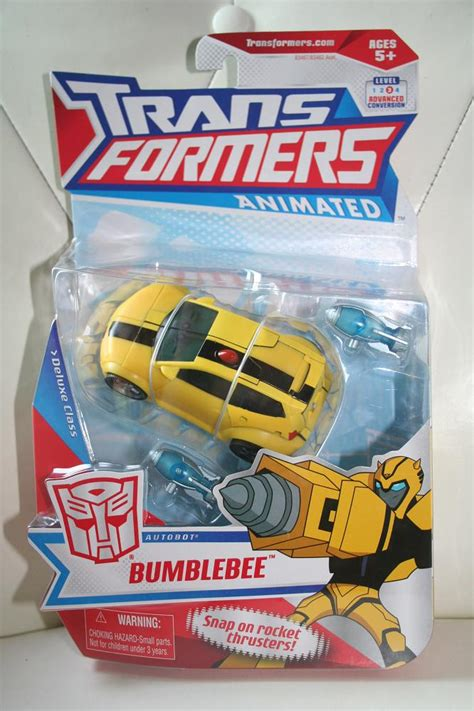 animated toys transformers animated bumblebee deluxe class figure