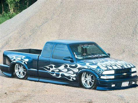 2002 Chevy S10 Xtreme by 2002 Chevy S10 Custom Truck Truckin Magazine