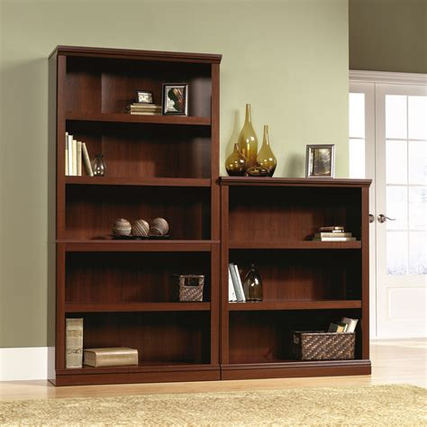 sauder bookcase 5 shelf sauder select 5 shelf bookcase 412835 sauder